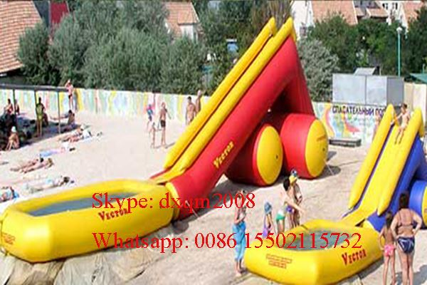 2016 new design Customized swimming pool /inflatable slide pools for kids and adults for sale