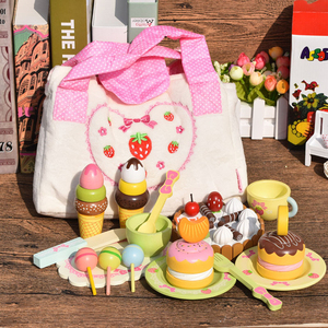 Afternoon tea series toy girl kitchen 3 year old pretend play food