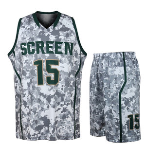 489b8b15867 Sublimated Basketball Uniform Set