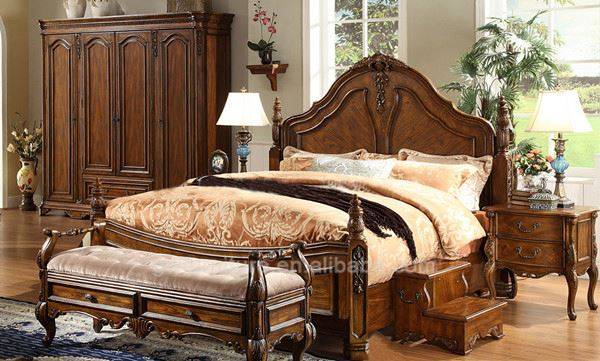 Canopy King Size Bedroom Set Supplieranufacturers At Alibaba