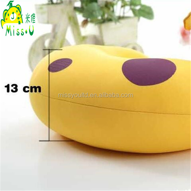 Direct Manufacturer U-shape Plush Animal Toy Giraffe Neck Pillow wholesale For Children