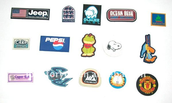 soft pvc patches