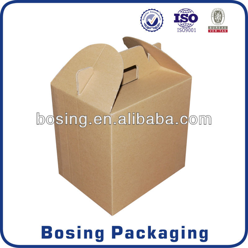 Food packaging with clear window