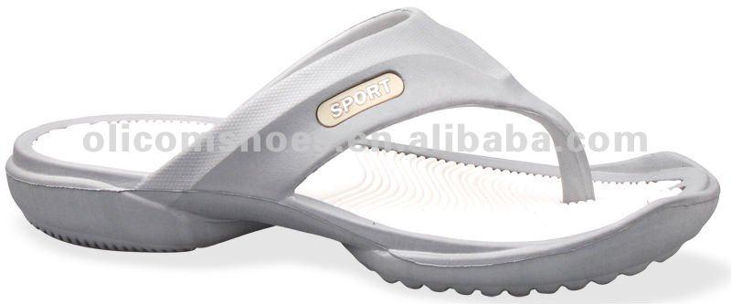 Soft Eva Material Men's Slippers,Nude Design Men Beach Slippers ...
