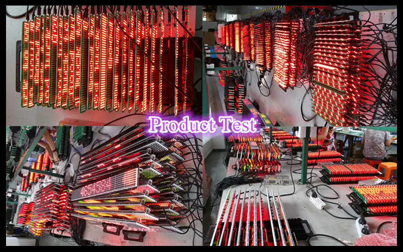 P5-12x48R red color programmable moving message desktop led sign with computer USB and IR remote control