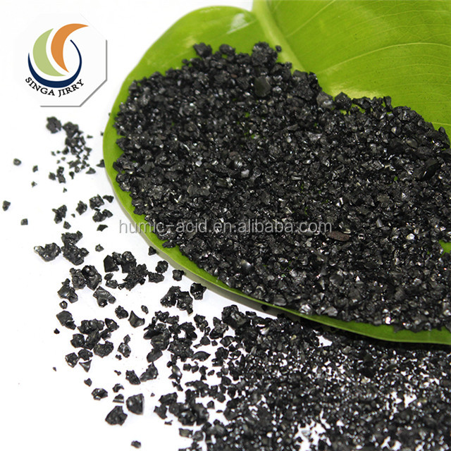 Price of Humic Acid Grade Organic Fertilizer Potassium Humate for Agriculture