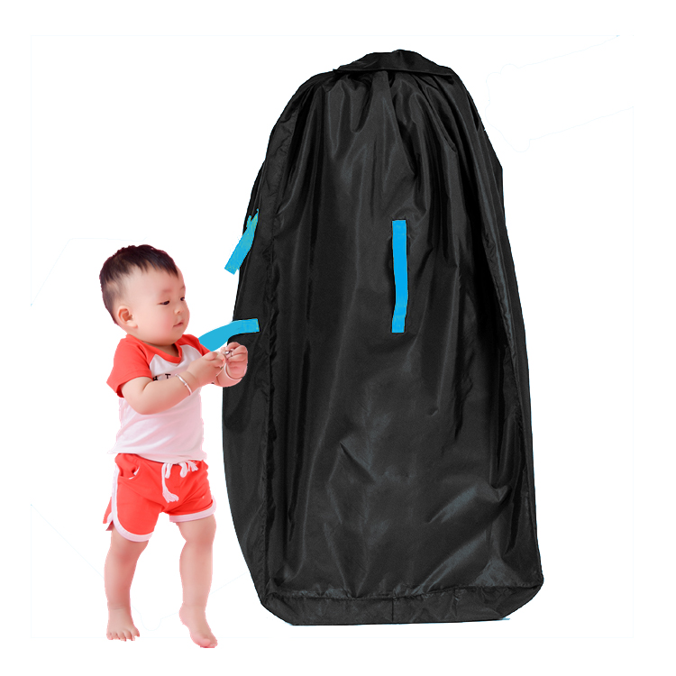 Car Seat Travel Bag With Shoulder Strap For Storage And Airport Gate Check
