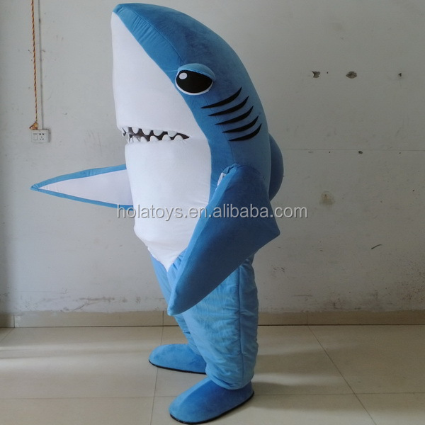 Hola blue shark costume/cosplay costume for sale