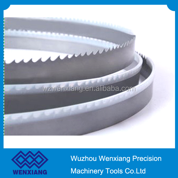 Metal cutting bimetal band saw blade welded loop band saw blade