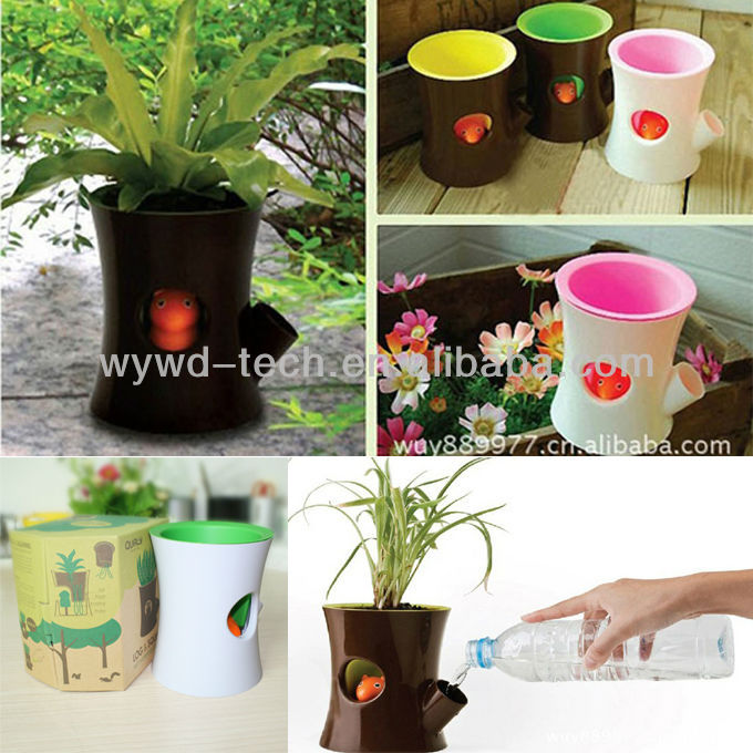 To Plant Favor Flower With The Squirrel Flowerpot, Best Personal Souvenirs For Lover,Wedding,Birthday And New Baby Born