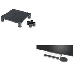 KITKCS10367KCS39180 - Value Kit - KELLY COMPUTER SUPPLIES Underdesk Keyboard Tray with Oval Mouse Platform (KCS39180) and KELLY COMPUTER SUPPLIES Monitor/Printer Stand (KCS10367)