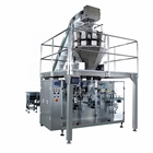 Automatic horizontal mixed nuts snack coffee beans seeds pasta granule premade pouch doypack bag food packing machine