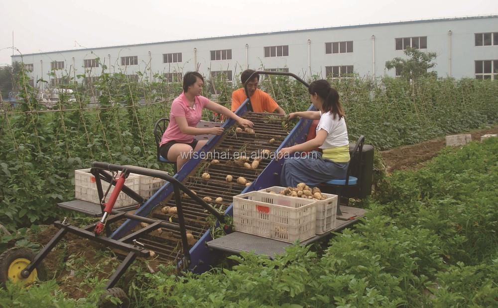 Self-propelled type Potato harvester