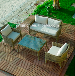 4 seater special table leg garden relax wicker rattan furniture outdoor plastic new design sofa set