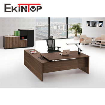 Executive Office Desk Double Sided With Drawers Kt D4a161