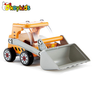 wholesale mini wooden pickup truck toy for kids W04A144