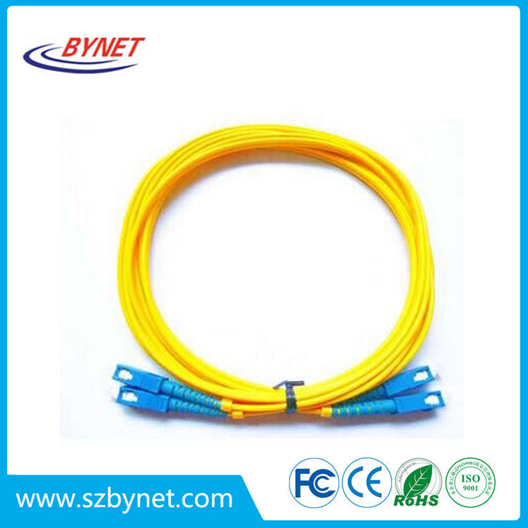 SC/UPC-SC/UPC SM DUP 2mm 3m fiber optical patch cord/pigtail