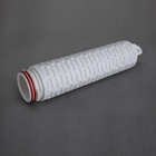 naturally hydrophobic PTFE membrane Pleated Membrane Filter Cartridge for CO2 /Air Clarifying Filtration in Wineries