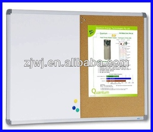 Combination Whiteboard/Corkboard
