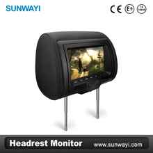 7 TFT LCD Headrest DVD monitor