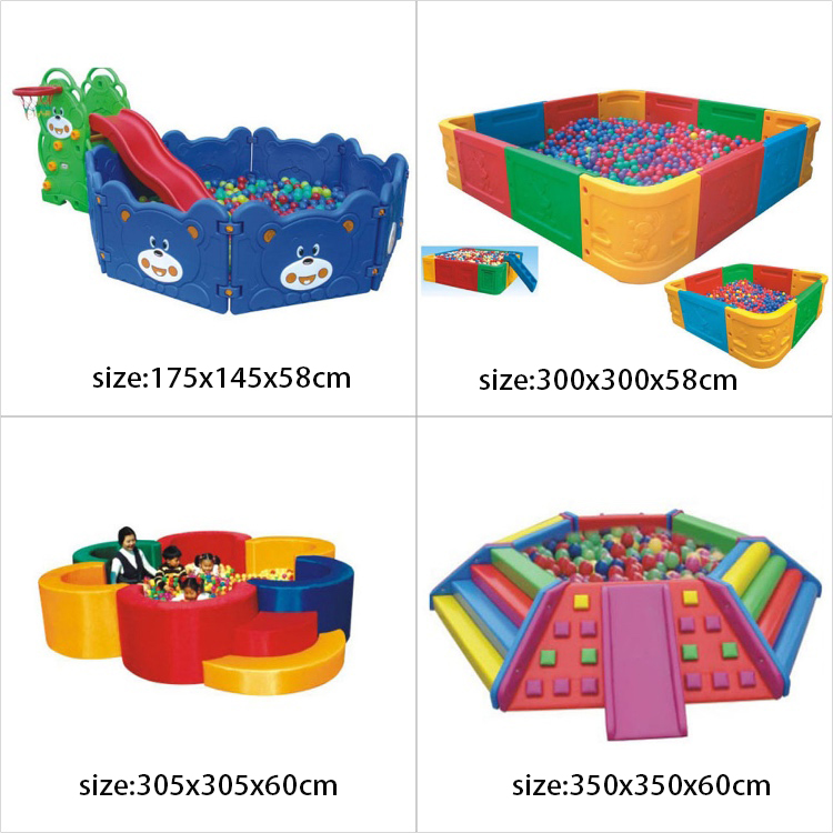 Home used mini plastic toys equipment kids play games ocean ball pool for sale
