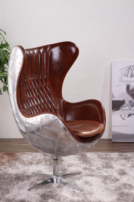 Awesome Aluminium Retro Aviator Egg Chair Replica Flag With Aviator Chair  Knock Off.