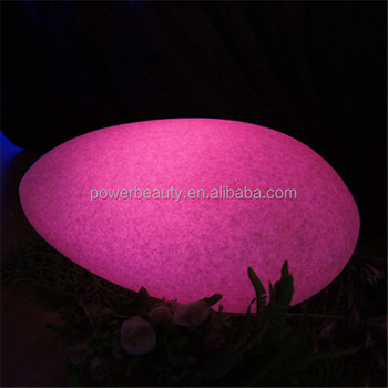Charming Fashionable Color Changing Outdoor Garden Solar Lights In Rock Shape  Wholesale