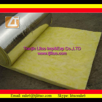 High quality insulating glass wool roll with for Sheeps wool insulation cost comparison