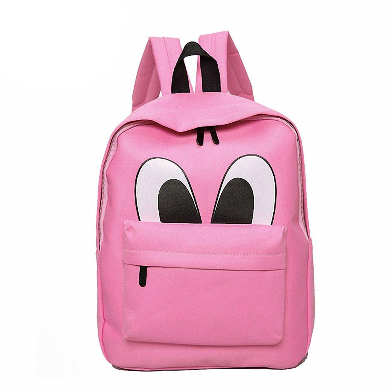 2c3cc3d31 Womens Canvas Backpacks Nylong Backpack Cute Eyes Style Shoulder Bags  Mochilas Escolar Schoolbag Printing Backpacks For
