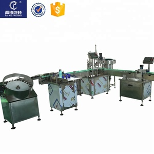 used bottle filling capping machine/factory Automatic eliquid eyedrop e juice filling machine