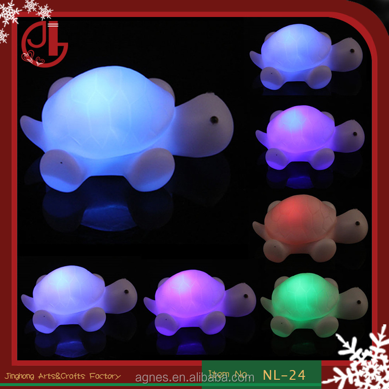LED Night Light Lamp Projector Party Christmas Decoration Cute Turtle Lamp