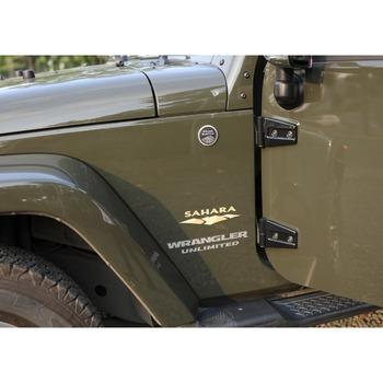Exterior Car Interior Decorative Door Hinge Cover Trim For Jeep