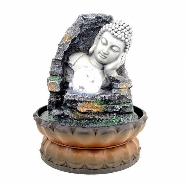 Best-selling boutique handicraft decoration resin fountain Buddha