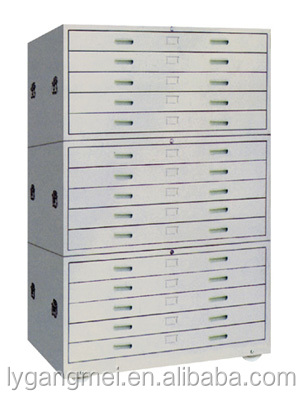 Horizontal drawing filing cabinet map file cabinet buy for Best brand of paint for kitchen cabinets with impact martial arts wall nj