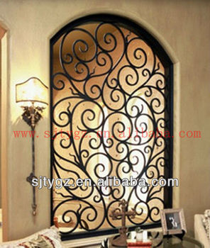 Newest window grill designs of wroght iron buy window for Window design bangladesh