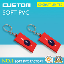 Wholesale china custom square shaped pvc rubber car part keychain with accessories