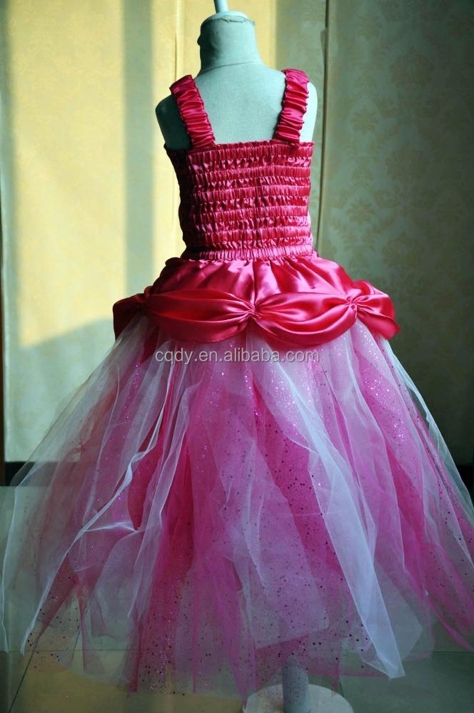 Nuevo Hello Kitty Rosa prom tulle vestido para niños niña, último ...