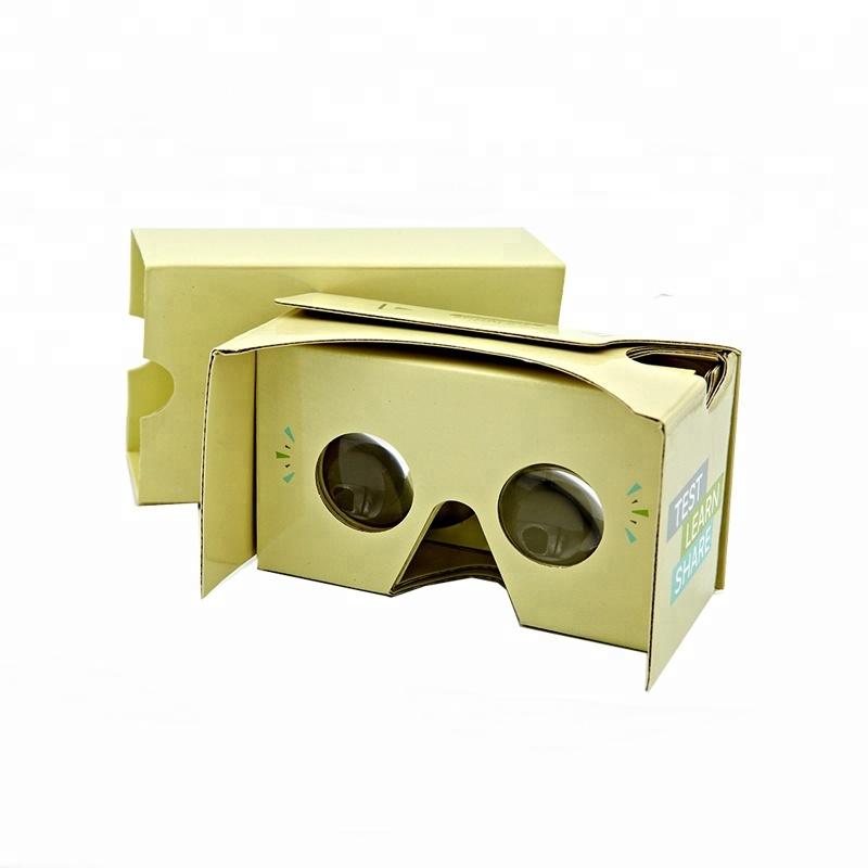 de5284fd1 نظارات الواقع الافتراضي 3d vr جوجل صندوق كرتون-نظارات 3D-معرف المنتج ...