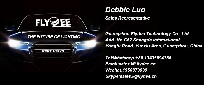 Smaller size Ultra-thin light cutting pattern car head light led 35W auto lighting system fighter WX led headlight h4