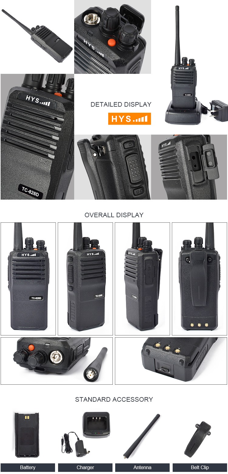 Most Powerful DMR Encrypted 20KM Range Two Way UHF VHF Digital Radio Walkie Talkie with GPS