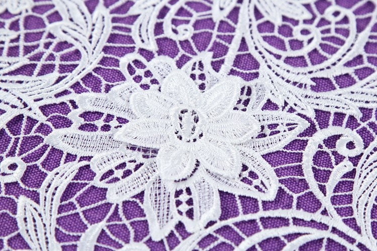 Delicate floral embroidery swiss lace, Pakistan white bridal embroidered tulle lace fabric