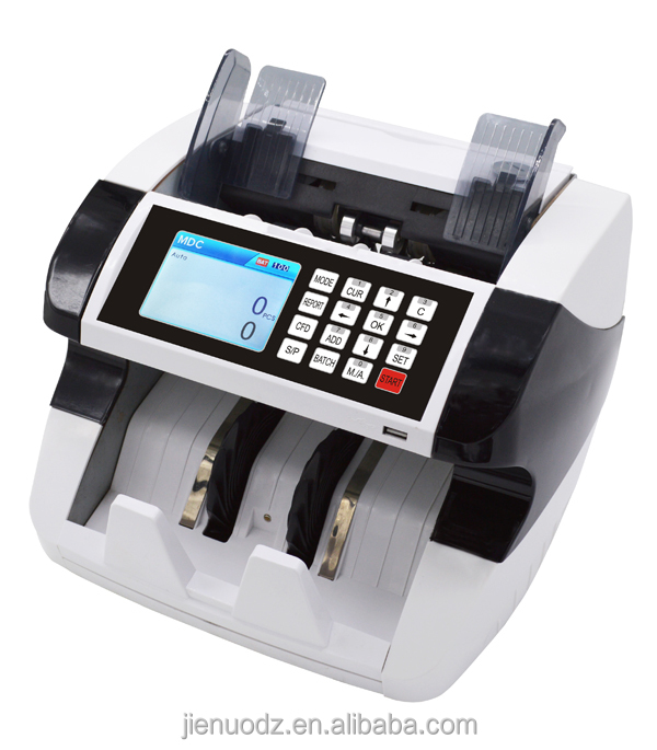 Bank use Heavy duty 2 CIS top-loading multi-currency bill counter