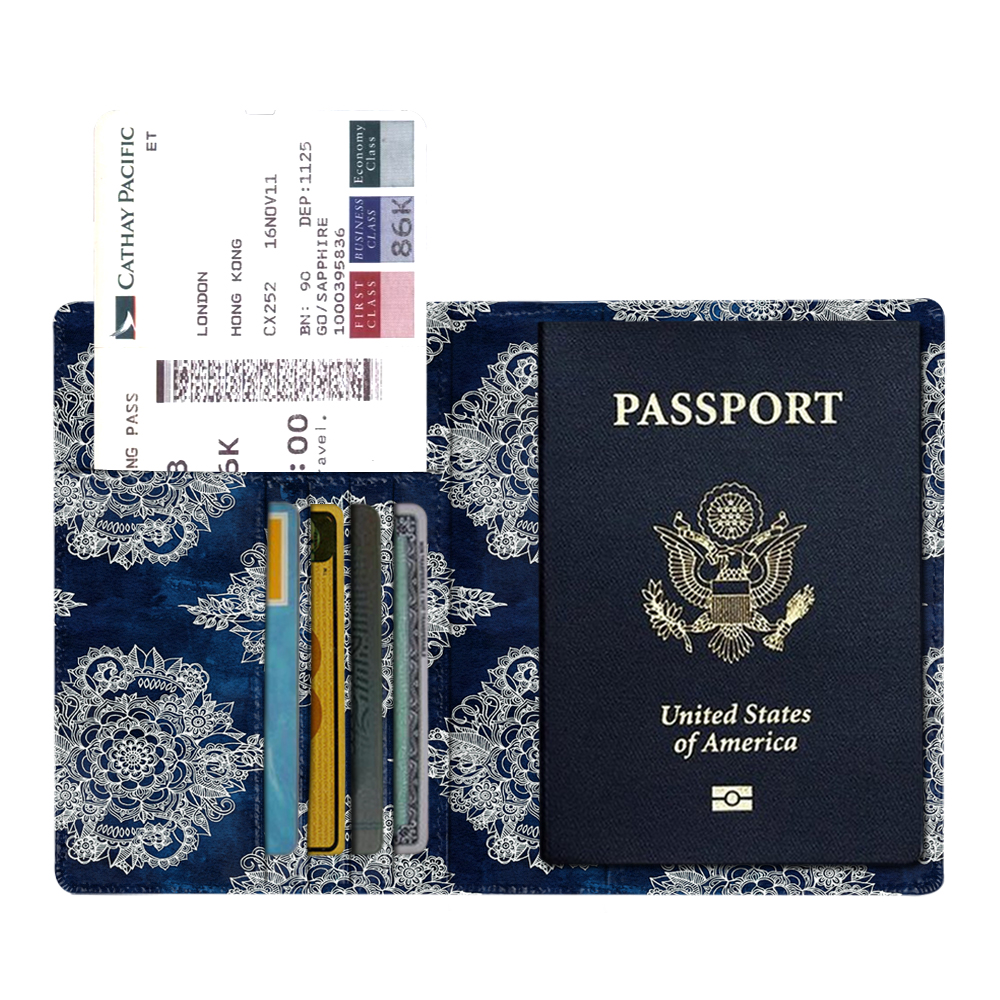 Wholesale Best Selling High Quality Travel Vegan Leather Personalized Passport Holder