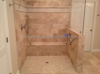 Bathroom Wall And Floors Tile, Beige Marble Travertine, Travertine Marble  Price