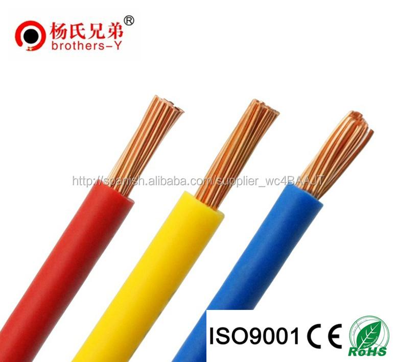 Cobre trenzado de alambre cable el ctrico para conexi n - Cable electrico barato ...