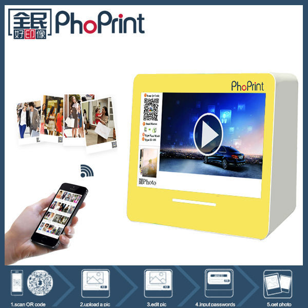Professional Factory Desktop Protable hd advertising machine/mini Quality photo product/metal case printer manufacturer