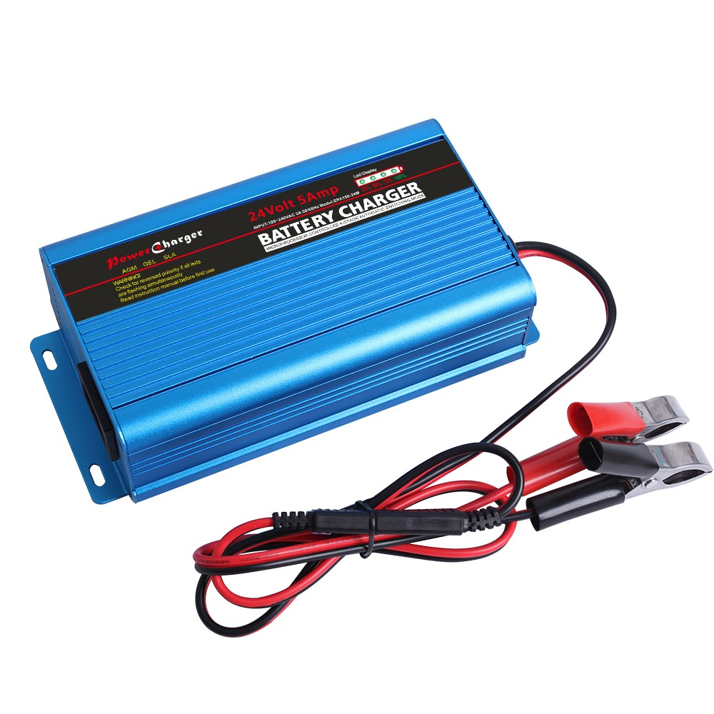 Electric Bike 24v Lead Acid Portable Car Battery Charger