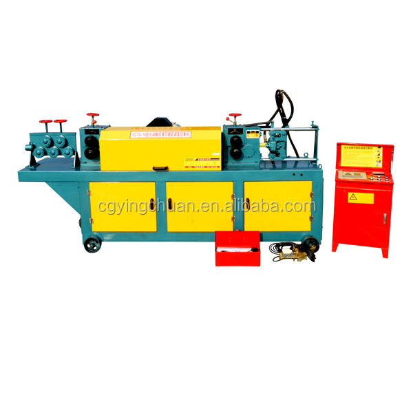 2018 Hot sale GT4-14 wire straightening cutting machine used