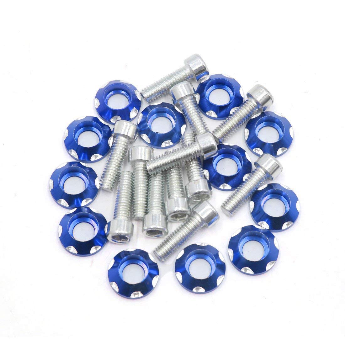 Piece-50 Hard-to-Find Fastener 014973151874 EQ Code Square Washers 5//8 x 3x3 x1//4