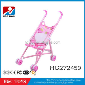 2015 Hot selling good baby stroller small wheel baby doll stroller HC272459